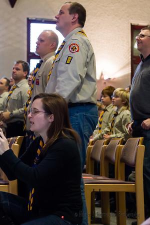 20091206 Ranger Gottesdienst
