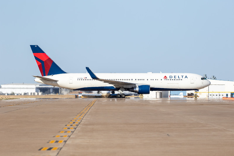 -(Airline) Delta Air Lines<br /> -(Aircraft) Boeing 767-300ER<br /> -(Aircraft Registration) N197DN<br /> -(Flight Number) Delta 9937<br /> -(Flight Route) Salt Lake City International Airport, Utah to Rick Husband Amarillo International Airport, Texas