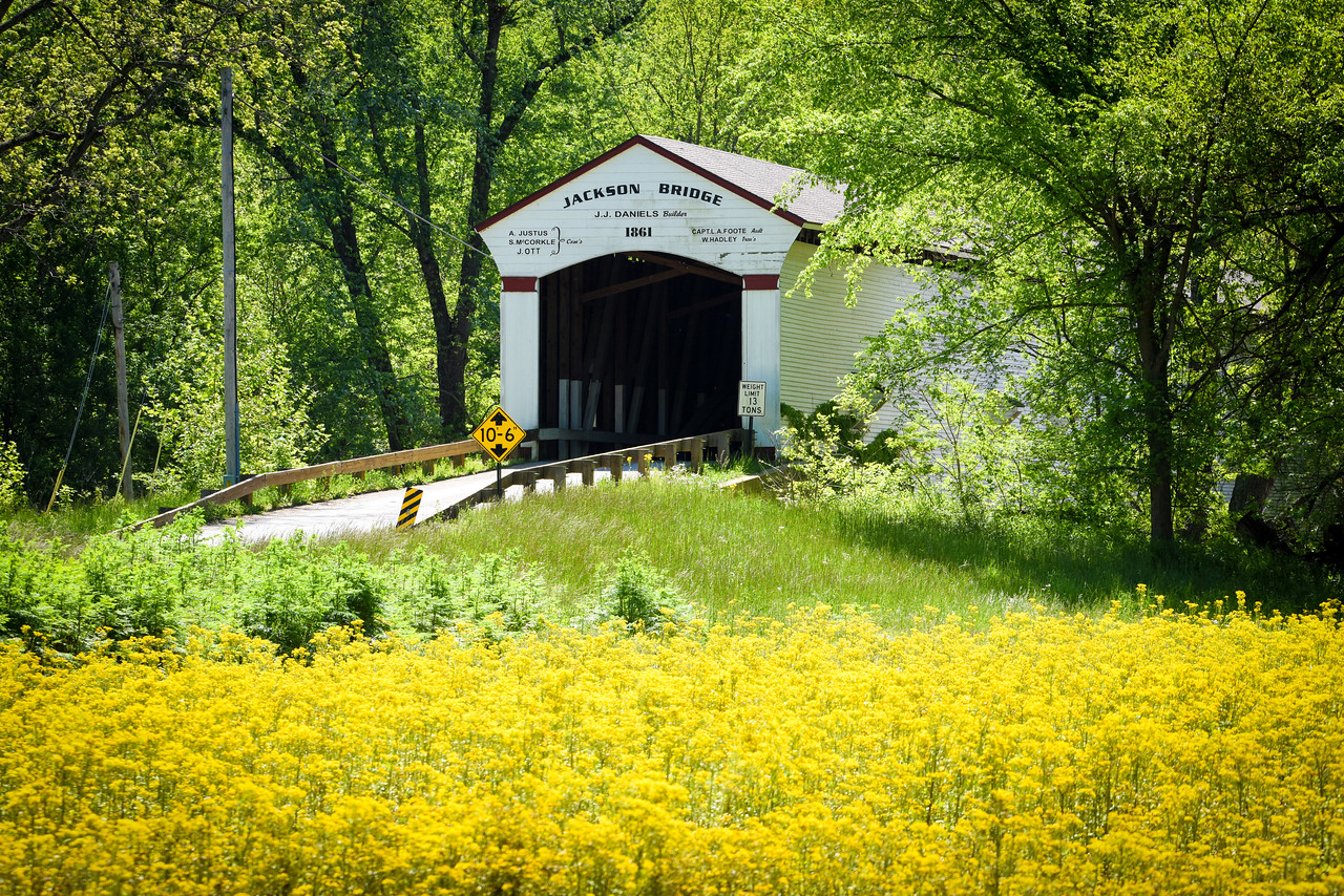 Jackson Bridge over Sugar Creek Parke County