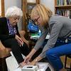 Visiting Nurse Association (VNA) held a centennial celebration at the Leominster Senior Center on Wednesday, September 25, 2019. SENTINEL & ENTERPRISE/JOHN LOVE