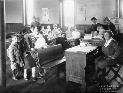 Baby Clinic, March 1928