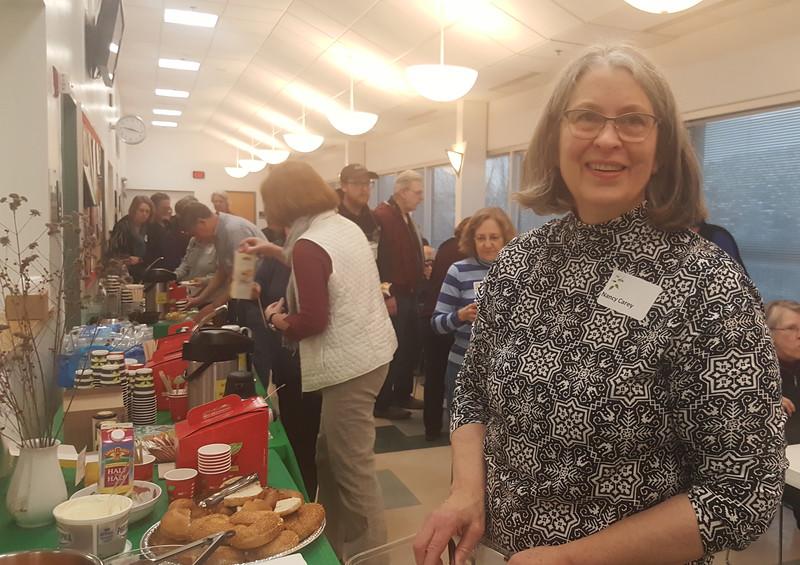 Nancy Carey, Piedmont Chapter Hospitality Volunteer