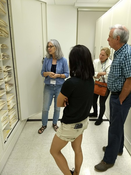 W&M Herbarium with Beth Chambers