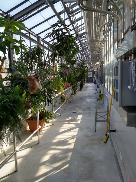 W&M Greenhouse by Mark Murphy
