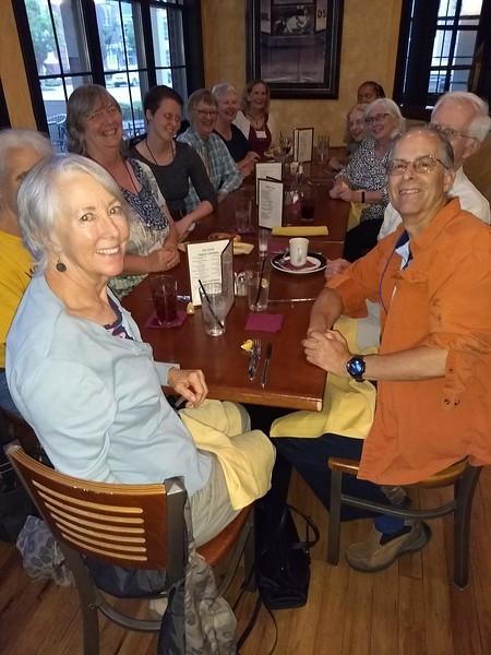Friday Evening Dinner at Corner Pocket Williamsburg