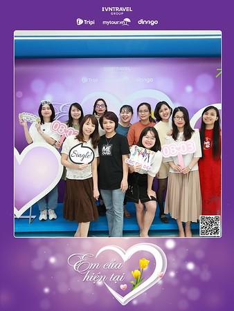 VNTravel Hanoi | Women's Day instant print photo booth | Chụp ảnh in hình lấy ngay Quốc tế Phụ Nữ 8/3 | Photobooth Hanoi