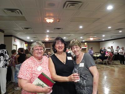 Sandi Weimer King, Antoinetter Fornaro, Lillian Robertson Hall