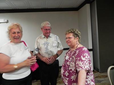 Mary Alice Michaels Krenrich, Bob Krenrich, Linda Marcinkowski Hinman
