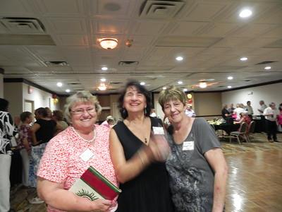 Sandi Weimer King, Antoinetter Fornaro Zona, Lillian Robertson Hall