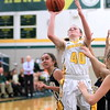 Grosse Pointe North's Julia Ayrault scored 13 points in a 35-30 loss to Port Huron Northern Thursday. (MIPrepZone photo gallery by Randy Castro)