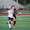Richmond's Grace Aiken (2) scored the only goal in a 1-0 overtime victory over Marine City Tuesday. (MIPrepZone photo gallery by Randy Castro)