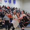 Goodrich's Aaliyah McQueen (21) scored 17 points to lead the Martians in a 56-45 comeback victory over Marine City Tuesday, March 7. (MIPrepZone photo gallery by Randy Castro)