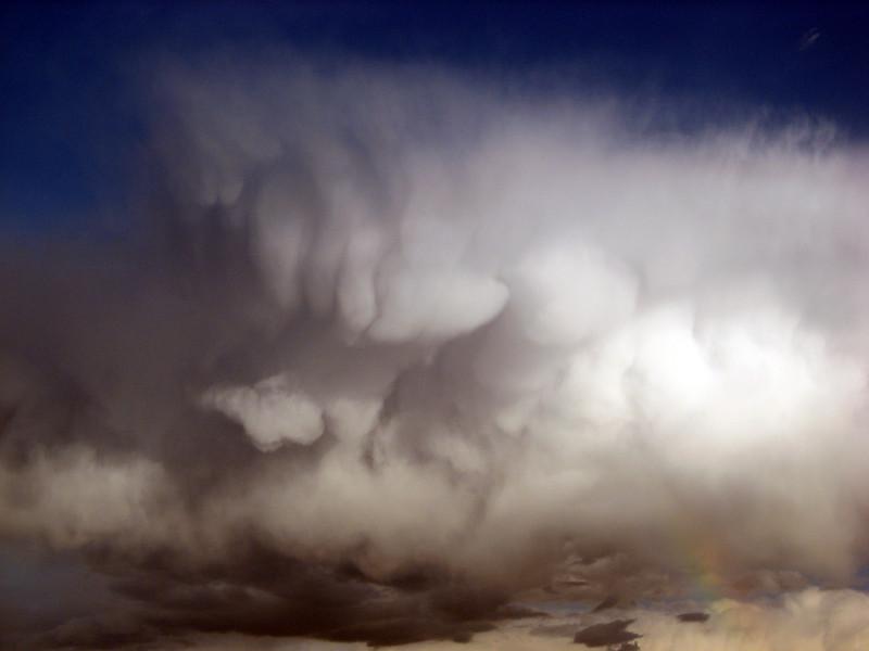 Mammatus and Rainbow