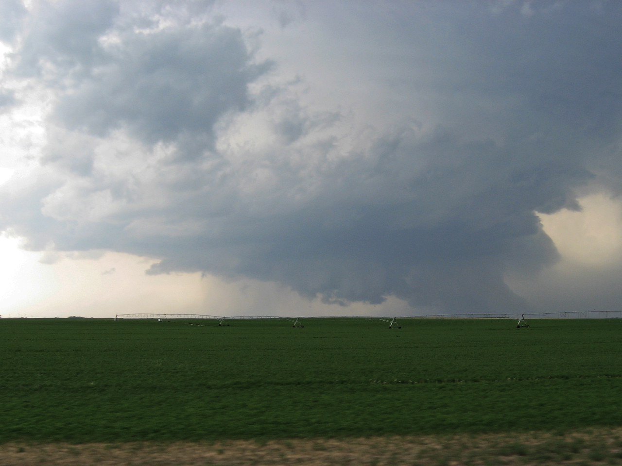 Ford, KS, Supercell