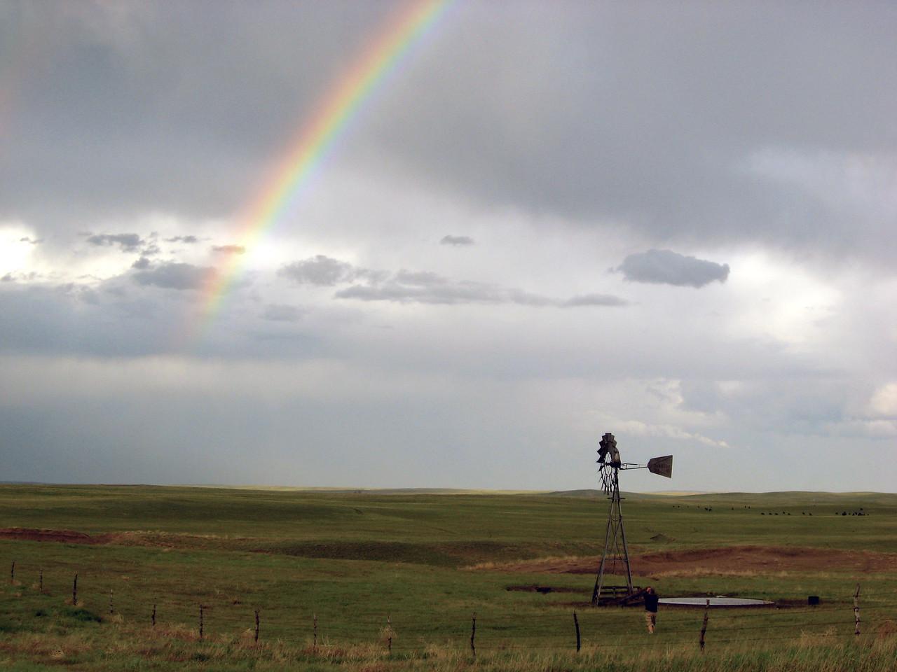 Rainbow and Windmill
