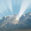 Heavenly Cumulus Cloud