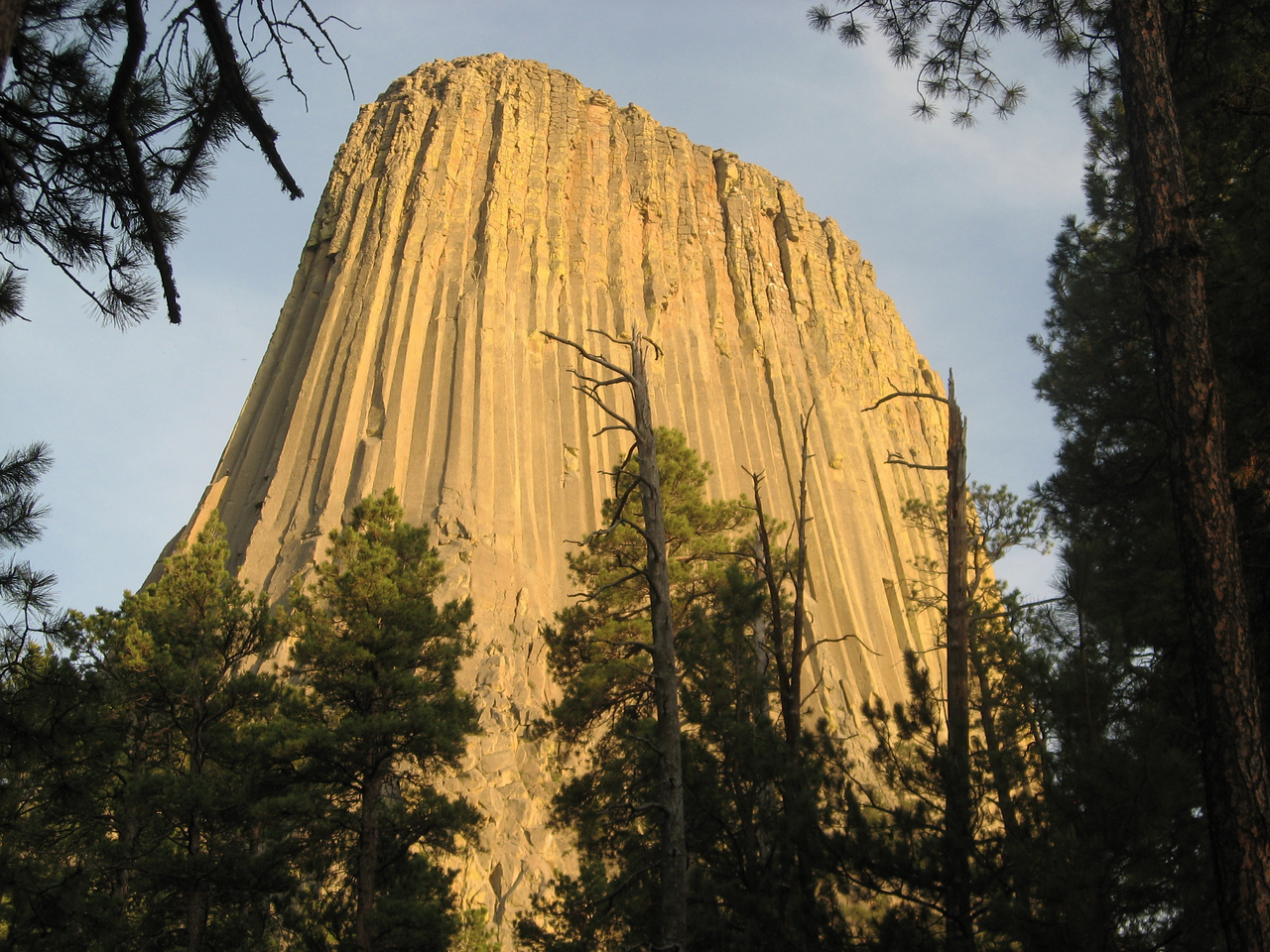 Devil's Tower, West Side