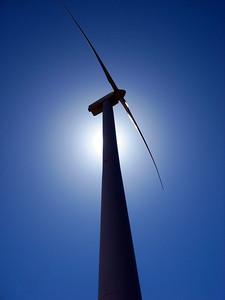 Wind Turbine Silhouette