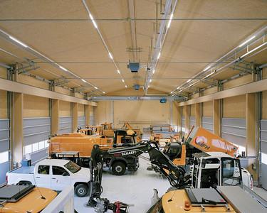 05 Werkhof Sissach | Einstellhalle