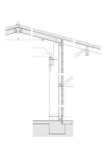 30 Detailschnitt Fassade Einstellhalle