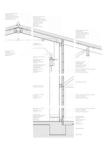 31 Detailschnitt Fassade Einstellhalle (mit Text)