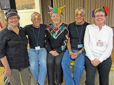 2/9/12  Pickleball Mardi Gras Social