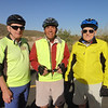 12/8/10  WE GO ON ONE OF VOYAGER'S LONG TIME, EVER POPULAR, BIKE CLUB RIDES!<br /> THE CEO, AND HIS ASSISTANTS.....<br /> DON, KEN AND NED