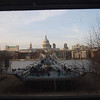 St. Paul depuis une fenêtre du Tate Modern