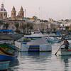 Le petit village de pêcheurs, Marsaxlokk.  Malte