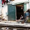 Hanoi, la voie ferrée