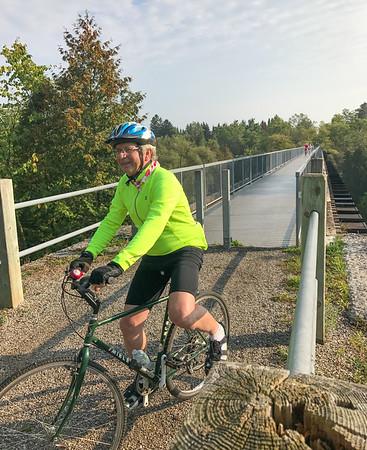 VPSC Trestle Bridge to Cottontail ride Sep 27/2017
