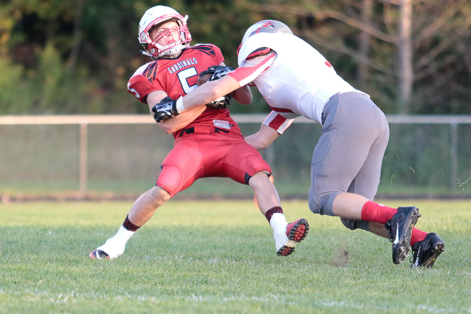 Frankenmuth came out strong and ran over Millington Friday night.