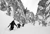 Stephan Beattie, Dylan Crossman and Brett Beattie - Sawtooth Mountains, Idaho