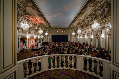 The 2014 Volunteer Tribute Dinner at the Fairmont Copley Plaza Hotel in Boston, MA.