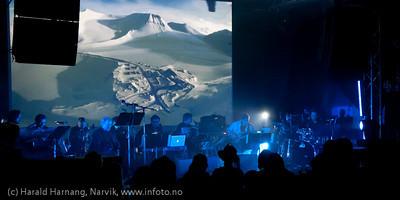 2.4.2011: Konsert Lokstall 1, Arctic Mood. Jazz og bilde/video av Brynjar Rasmussen (foto) og Werner Anderson (komp)