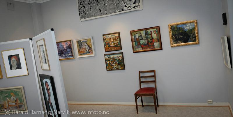 VU-2011: Museum Nord - Narvik, utstillinger,