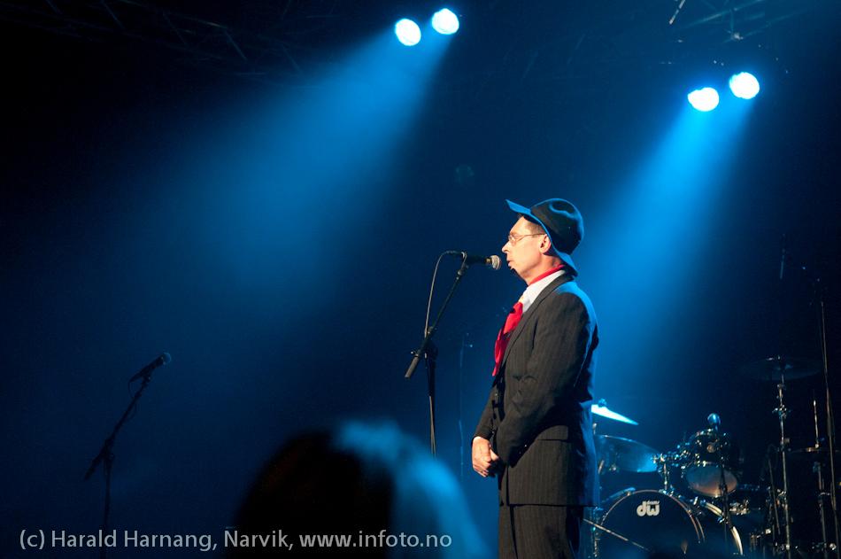 Åpningsseremoni og åpningskonsert på Nordkraft Arena.  Klaus Hvassing, adm.dir Nordkraft.