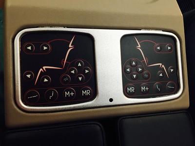 Control de los asientos