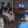 "The fencing club alumni gathered Saturday afternoon to watch ""The Avengers"" videos and imbibe some lime sherbet punch."