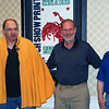 Ray Finkleman (wearing a cape from the 1970's), Dick Vanstrum and Steve Block.
