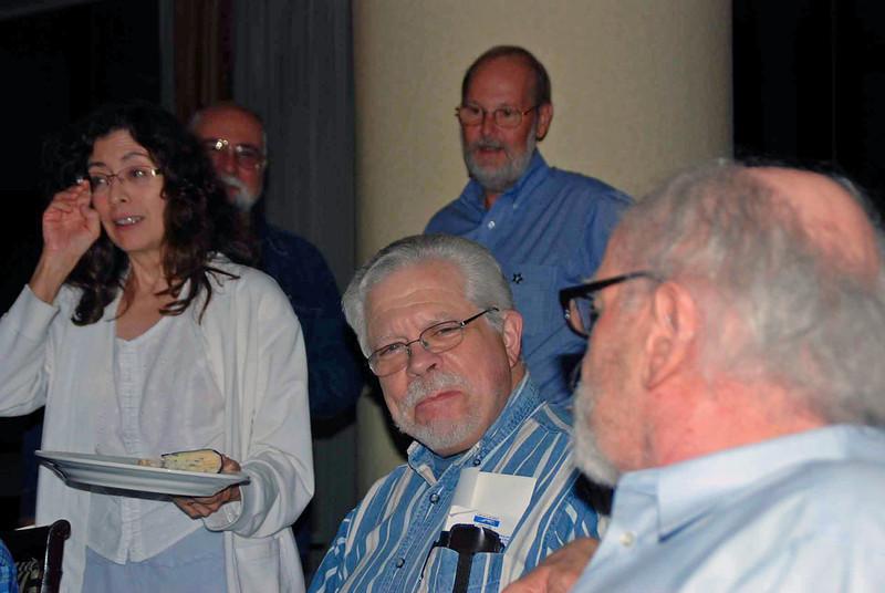 Carole Fernandez, Doug Huggins, Steve Block, Dick Vanstrum and Dale Sweeney.