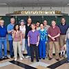 The alumni of the Vanderbilt Fencing Club: from left: Corie Huggins, Doug Huggins, Steve Block, Chuck Stewart, Carole Fernandez, Jean Finkleman, Raymond Finkleman, Dawn Logan, Ray Stone, Melinda Stone, Harry Stone, John Turnley, Dick Vanstrum and Dr. Richard Stearns.