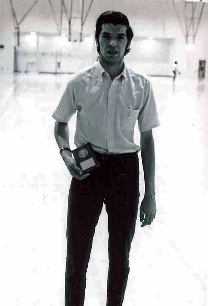 Ray Finkleman, Tennessee Division Epee Champion.