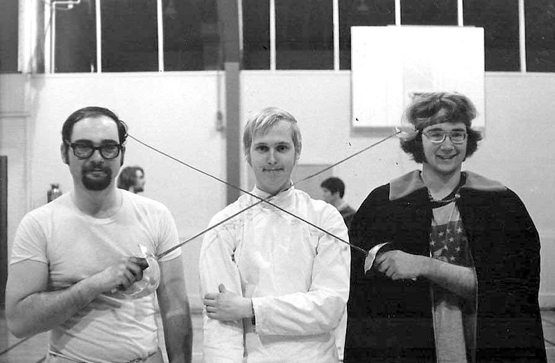 """Doug Huggins, Dick Vanstrum, Bill """"Hack"""" Jenkins."""