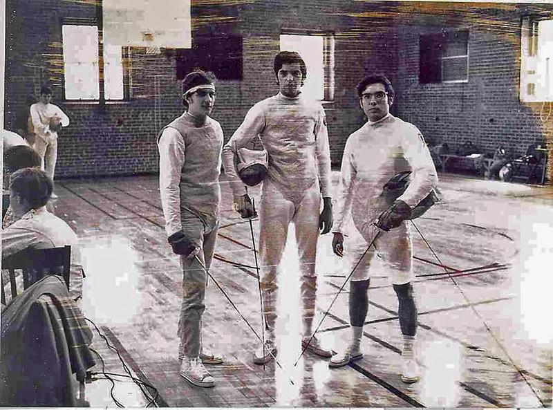 From left: Harry Stone, Raymond Finkleman, Wayne Galella.