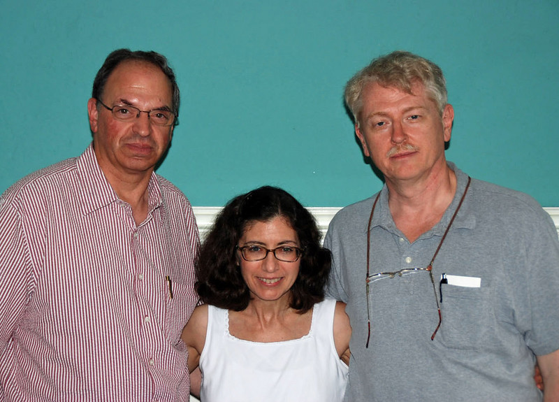Raymond Finkleman, Carole Fernandez & Chuck Stewart (Miami, FL - July 2007)