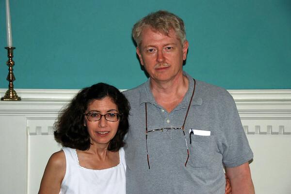 Carole Fernandez & Chuck Stewart (Miami, FL - July 2007)