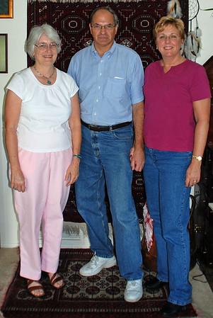 Dorothy Moore, Raymond Finkleman & Jean Finkleman (Tucson, AZ - October 2007)