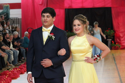 Charles Pritchard - Oneida Daily Dispatch The Vernon-Verona-Sherrill High School Class of 2019 take part in their grand march at junior prom on Saturday, May 19, 2018.