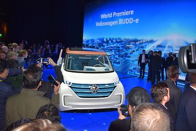 VW Budd-E unveil